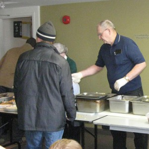Mike's Lunch Baskett at the Cambridge Self Help Food Bank