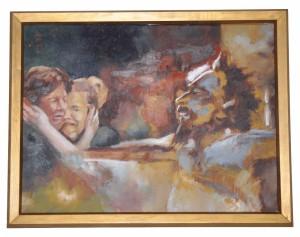 Jesus Meets the women of Jerusalem Emile Swanepoel