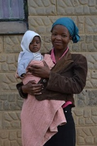 Basotho Mother and Child