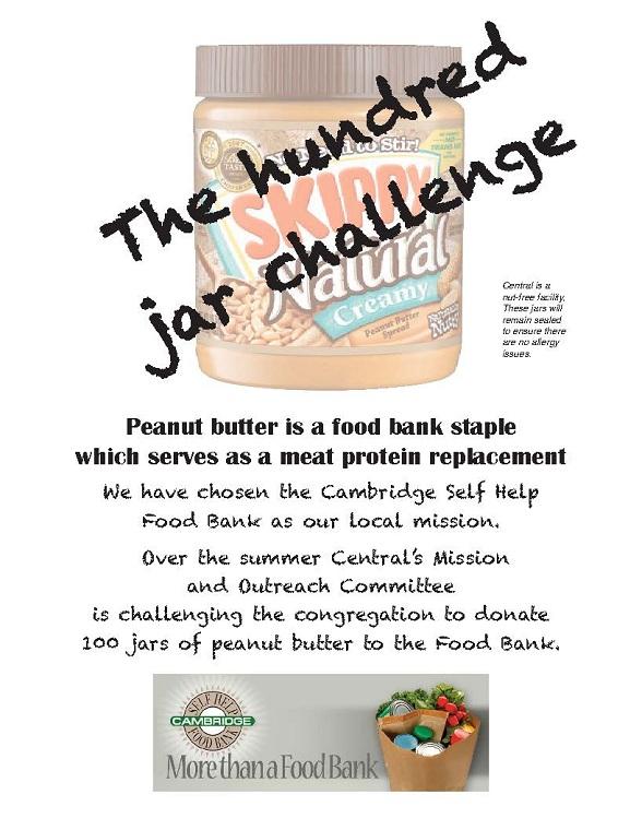 The Hundred Jar Challenge